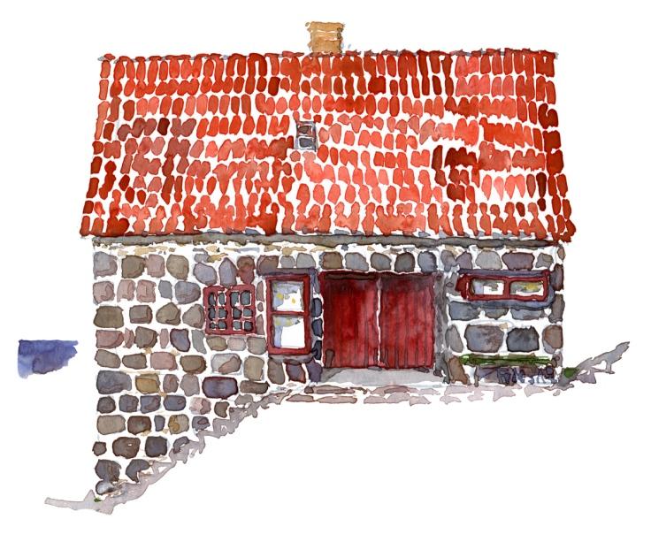 ertholmene-christiansoe-kiosk-house-watercolor-by-frits-ahlefeldt